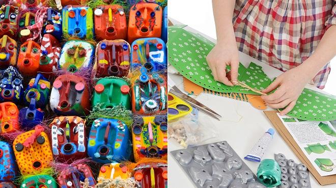 Recup Art un atelier de récup'art de 4h