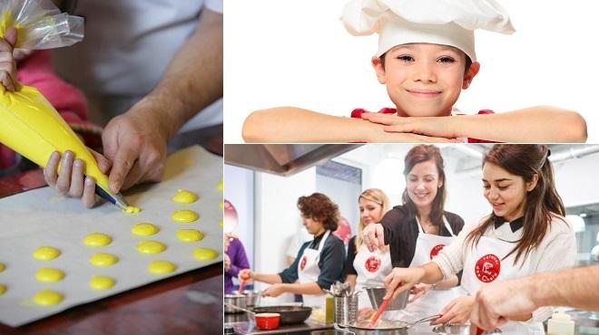 un stage de cuisine pendant les vacances pour enfant ou ado